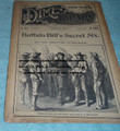 BEADLES NEW YORK DIME LIBRARY # 1013 BUFFALO BILL'S SECRET SIX DIME NOVEL