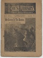1884 BEADLES BOY'S LIBRARY OF SPORT, STORY & ADVENTURE #05 OLD GRIZZLY IN THE ROCKIES DIME NOVEL