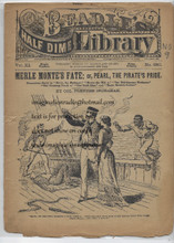 """""Check out our youtube channel ""DIME NOVEL HUNTER"" search ""Broadway Billy Beadle's"" BEST WAY TO SEE THIS ITEM IS WITH ONE OF THE VIDEOS. Please look closely at the scans as they are a good indication of conditions any questions please ask before bidding. Our dealer stamp is stamped on an inside page. Thank you."""""