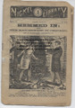 THE NICKEL LIBRARY #695 AMERICANA DIME NOVEL STORY PAPER