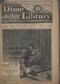 BEADLE'S NEW YORK DIME LIBRARY 632 JOE PHENIX DETECTIVE DIME NOVEL STORY PAPER