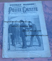 1882 NATIONAL POLICE GAZETTE #251 GARFIELD ASSASSINATION DIME NOVEL STORY PAPER