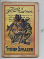 ".Check out our youtube channel ""DIME NOVEL HUNTER"" BEST WAY TO SEE THIS ITEM IS WITH ONE OF THE VIDEOS. This book is in good condition with wear to edges, some chipping,small tears and small missing pieces on cover. It cover is darkened with age, Please look closely at the scans as they are a good indication of conditions any questions please ask before bidding. Our dealer stamp is stamped on an inside page. Thank you."