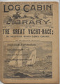 LOG CABIN LIBRARY #348 YACHT RACE DIME NOVEL STORY PAPER