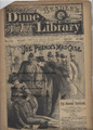 BEADLE'S NEW YORK DIME LIBRARY 745 JOE PHENIX DETECTIVE DIME NOVEL STORY PAPER