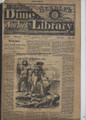 1879 BEADLE'S NEW YORK DIME LIBRARY # 22 DIME NOVEL STORY PAPER