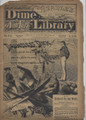 1878 BEADLE'S NEW YORK DIME LIBRARY # 878 DIME NOVEL STORY PAPER