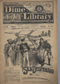 1885 BEADLE'S NEW YORK DIME LIBRARY # 341 DIME NOVEL STORY PAPER