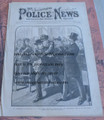 ILLUSTRATED POLICE NEWS #888 BOSTON 1883 CHAMPION CREW TEAM STORY PAPER