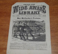 FIVE CENT WIDE AWAKE LIBRARY #264 FRANK TOUSEY DIME NOVEL STORY PAPER
