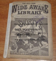 2 ISSUES OF FIVE CENT WIDE AWAKE LIBRARY #135 & #534 FRANK TOUSEY DIME NOVEL STORY PAPER