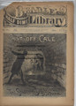 BEADLE'S HALF DIME LIBRARY # 781 SKELETON BEADLES DIME NOVEL STORY PAPER COVER