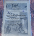 OLD CAP COLLIER #590 BACK FROM THE DEAD DIME NOVEL