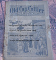 "1895 OLD CAP COLLIER #626 ""THE QUEEN OF DIAMONDS"" DIME NOVEL"