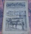 "1897 OLD CAP COLLIER #692 ""GIDEON GAULTS PRIZE CASE"" DIME NOVEL"