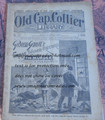 1898 OLD CAP COLLIER #747 GIDEON GAULT'S GREAT THUMB RECORD  DIME NOVEL