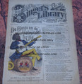 "1878 BEADLE'S SINGER HALF DIME LIBRARY #33  ""SEE VIDEO""  DIME NOVEL STORY PAPER"