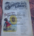 "1878 BEADLE'S SINGER HALF DIME LIBRARY #40  ""SEE VIDEO""  DIME NOVEL STORY PAPER"