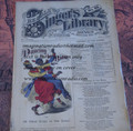"1878 BEADLE'S SINGER HALF DIME LIBRARY #42  ""SEE VIDEO""  DIME NOVEL STORY PAPER"