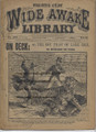 1896 FIVE CENT WIDE AWAKE LIBRARY #1271 LAKE ERIE STORY DIME NOVEL STORY PAPER