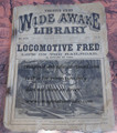 1891 FIVE CENT WIDE AWAKE LIBRARY #1056 DIME NOVEL STORY PAPER