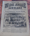 FIVE CENT WIDE AWAKE LIBRARY #163 DIME NOVEL STORY PAPER