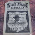 FIVE CENT WIDE AWAKE LIBRARY #1274 DIME NOVEL STORY PAPER