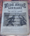 1879 FIVE CENT WIDE AWAKE LIBRARY #308 DIME NOVEL STORY PAPER
