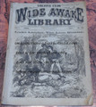 1877 FIVE CENT WIDE AWAKE LIBRARY #172 DIME NOVEL STORY PAPER