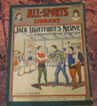 1905 ALL-SPORTS LIBRARY #37 SCARCE ATHLETIC STREET & SMITH DIME NOVEL  STORY PAPER