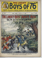 LIBERTY BOYS OF 76 #137 BATTLE OF THE COW PENS FRANK TOUSEY 1903 DIME NOVEL