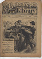 BROADWAY BILLY BEADLE'S NEW YORK DIME LIBRARY 880 DIME NOVEL STORY PAPER