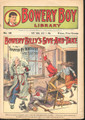 SCARCE BOWERY BOYS LIBRARY #38 DIME NOVEL STORY PAPER