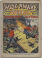 SCARCE WIDE AWAKE WEEKLY #77 FIREMAN DIME NOVEL STORY PAPER