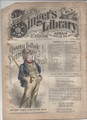 "1878 BEADLE'S SINGER HALF DIME LIBRARY #08  ""SEE VIDEO""  DIME NOVEL STORY PAPER"