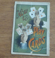 1902 HOW TO PLAY CARDS FRANK TOUSEY DIME NOVEL STORY PAPER