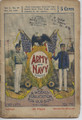 UPTON SINCLAIR ARMY AND NAVY #19 WEST POINT & ANNAPOLIS DIME NOVEL STORY PAPER