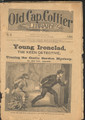 1883 OLD CAP COLLIER #21 THE SPIRIT DETECTIVE DIME NOVEL STORY PAPER