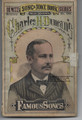 1878 VAUDEVILLE DEWITT'S SONG & JOKE BOOK CHARLES DUNCAN, TONY PASTOR BILLY WEST