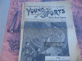 1897 STORY PAPER YOUNG SPORTS #46 VARIETIES PUBLISHING VERY SCARCE DIME NOVEL