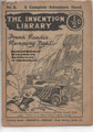 RARE BLACK & WHITE FRANK READE INVENTION LIBRARY #6 THE COMPLETE STORY EXTREMELY SCARCE DIME NOVEL