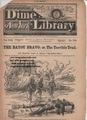 TORTURE BEADLES NEW YORK DIME LIBRARY #269 BUCKSKIN SAM S HALL DIME NOVEL