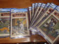 CGC GRADED 1900 COMRADES 5 ISSUES OF A UNIQUE RAILROAD DIME NOVEL OPPORTUNITY