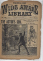 1897 FIVE CENT WIDE AWAKE LIBRARY 1332 ADVENTURE STORY DIME NOVEL STORY PAPER