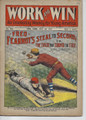 1908 WORK AND WIN 495 BASEBALL COVER FRANK TOUSEY DIME NOVEL