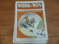 1908 WORK AND WIN 508 BASEBALL COVER  FRANK TOUSEY DIME NOVEL