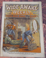 WIDE AWAKE WEEKLY #110 SCARCE FIREMAN FIRE FIGHTING DIME NOVEL STORY PAPER