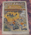 WIDE AWAKE WEEKLY #51 SCARCE FIREMAN FIRE FIGHTING DIME NOVEL STORY PAPER
