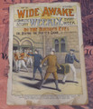 WIDE AWAKE WEEKLY #31 SCARCE FIREMAN FIRE FIGHTING DIME NOVEL STORY PAPER
