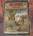1905 ALL-SPORTS LIBRARY #32 SCARCE ATHLETIC STREET & SMITH DIME NOVEL  STORY PAPER